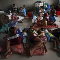 No major damage reported in Philippine typhoon; three dead