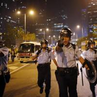 China charms Hong Kong's law enforcers