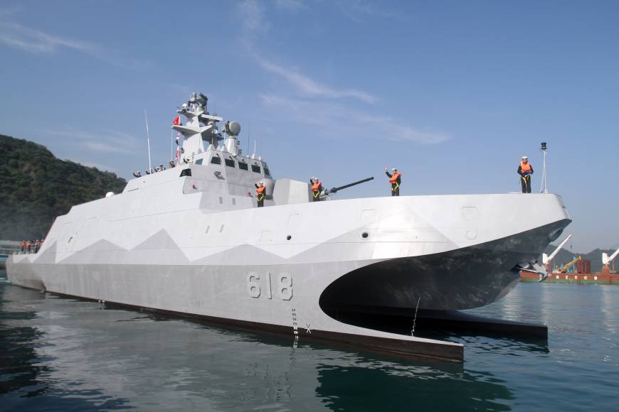 Taiwan Navy gets first homemade 'carrier killer'