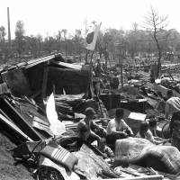 Tokyo, which had burned during the war, has arisen from the devastation over the past 70 years. | KYODO