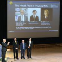 Blue LED inventors speak about their work ahead of Nobel awards ceremony