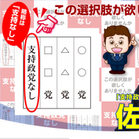 Novelty party in Hokkaido shows that 105,000 voters want 'none of the above'
