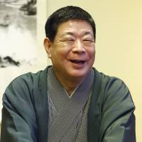 Rakugo storyteller Sankyo honored for promoting Japanese language