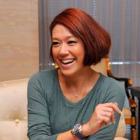 In an interview with The Japan Times in Tokyo on Nov. 18, singer and TV personality LiLiCo says she learned tenacity growing up in Stockholm, a key to success in Japan's competitive entertainment industry. | SATOKO KAWASAKI
