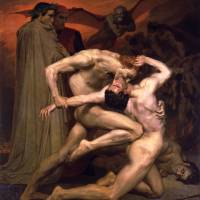 William-Adolphe Bouguereau's 'Dante and Virgil in Hell'