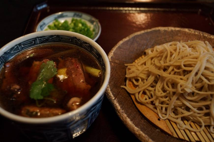 New Year's noodle: Take part in tradition and slurp down some of Futaba's toshikoshi soba at the end of 2014. | ADAM MILLER