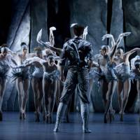 Moving: A still from Les Ballets de Monte Carlo's 'Swan Lake.' | ANGELA STERLING