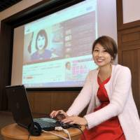 Meet and greet: On Nov. 9, Chika Yoshida took part in an event, organized in collaboration with The Japan Times ST, where she met about 100 fans at Nifco Hall.