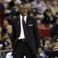 Impressive work: Toronto Raptors head coach Dwane Casey, who coached in the JBL from 1989-94, has led the team into the NBA's elite since taking the helm before the 2011-12 season. | AP