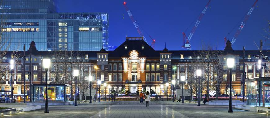 Tokyo Station at 100: all change