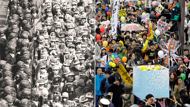 Public protest in Japan: Power to the people?