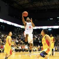 Gifted scorer: Big Bulls star Scootie Randall leads the bj-league in scoring (23.6 points per game). | MIA KNOTTS