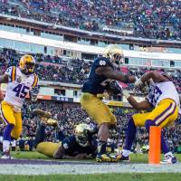 Notre Dame beats LSU on late FG