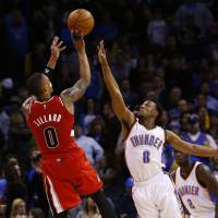 Lillard steals show in win over Thunder