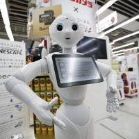 Starting point: Although Japan may lag behind the U.S. and Europe in terms of animal ethics, it doesn't lag behind in its integration of robots into human society.   REUTERS