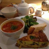 Respite from the chill: The lunch set at Le Pain Quotidien is great for warming up on a windy day. | ANANDA JACOBS