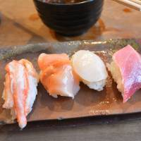 A cut above: A sushi course at Endo's is worth waiting in line for. | J.J. O'DONOGHUE