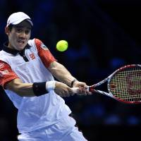 Grand slam: Kei Nishikori was on Monday named the 2014 winner of the grand prize at the Japan Pro Sports Awards. | REUTERS