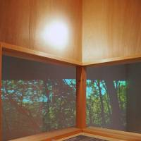 Up in the clouds: Inside a full-scale model of the treehouse Arata Isozaki built in Karuizawa.   | C.B. LIDDELL