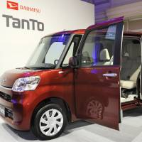 Daihatsu Motor Co. sold an impressive 234,456 Tanto minicars in 2014, up more than 62 percent. | KYODO