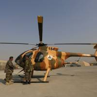 Afghan air force ascent slow, imperiling battle with Taliban