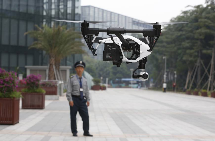 China takes the lead in fast-growing drone market