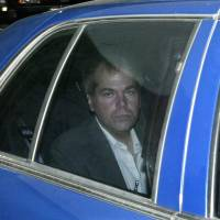 John Hinckley Jr. arrives at U.S. District Court in Washington on Nov. 18, 2003. | AP