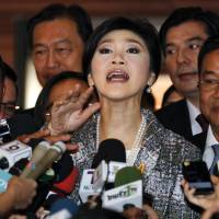Impeached Thai ex-premier Yingluck says democracy is dead