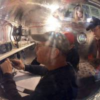 Balloonists said to break air time record on trans-Pacific journey