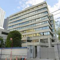 The Chongryon group is expected to continue using this building in Chiyoda Ward, Tokyo, that has served as North Korea's de facto embassy in Japan. | KYODO
