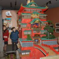 Architecture museum's Ghibli exhibition a major hit in Koganei