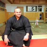 Egyptian sumo star Osunaarashi focuses on wrestling his way to the top