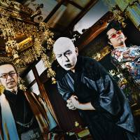 Kimono-clad rockers: Shinji Wajima, Kenichi Suzuki and Nobu Nakajima make up Ningen Isu, a band that has been referred to as a 'Japanese Black Sabbath.'