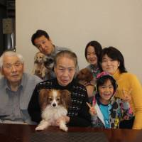 A family affair: Dog Glaccolo finds a home
