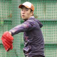 More left to prove: A spot in the starting rotation is what the Fighters' Yuki Saito has his sights set on this spring. | KYODO