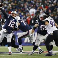 Brady rallies Pats by Ravens