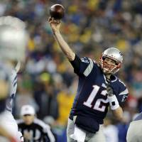 Major quest: Tom Brady will be going for his fourth NFL title when the New England Patriots take on the Seattle Seahawks in Super Bowl XLIX on Sunday in Glendale, Arizona. | AP