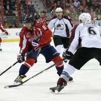 Ovechkin sets record as Caps win