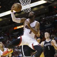 Heat break out of funk with victory over Nets