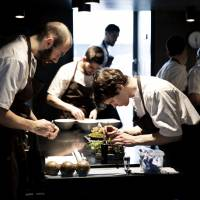 Nature's pantry: Chefs prepare intricate dishes at the Noma restaurant in Copenhagen. | MIKKEL HERIBA