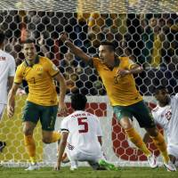 Early goals carry Australia past UAE in Asian Cup semifinals