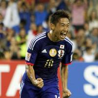 Honda strikes again as Japan prevails against Jordan, finishes atop Group D