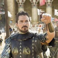 Epic production: Christian Bale plays biblical hero Moses in 'Exodus: Gods and Kings. | ©2014 TWENTIETH CENTURY FOX FILM CORPORATION ALL RIGHTS RESERVED.