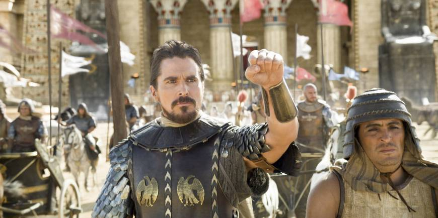 Scott delivers epic tale with 'Exodus'