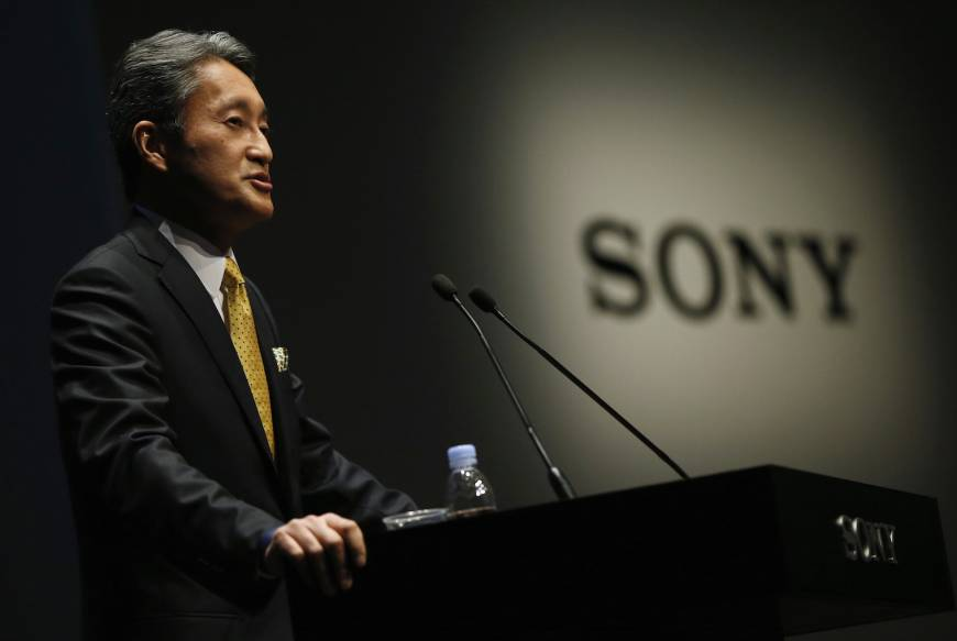 Sony CEO Hirai says selling TV business now an option