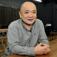 Flow master: Go Aoki, the director of 'The River,' a hit work by the English playwright and director Jeremy 'Jez' Butterworth.  | YOSHIAKI MIURA