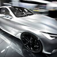 Nissan Motor Co. exhibits its Infinity Q60 concept vehicle at the 2015 North American International Auto Show in Detroit last month. | BLOOMBERG