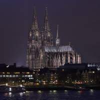 The famous Cologne cathedral is illuminated Nov. 5 in Cologne, Germany. The Roman Catholic archdiocese of Cologne has published accounts showing the full extent of its wealth for the first time. Documents posted on its website Wednesday show Germany's richest archdiocese had assets of €3.35 billion ($3.82 billion) at the end of 2013, making it wealthier than the Vatican.   AP