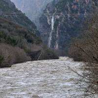 Flash floods hit Greece, Albania, force evacuations