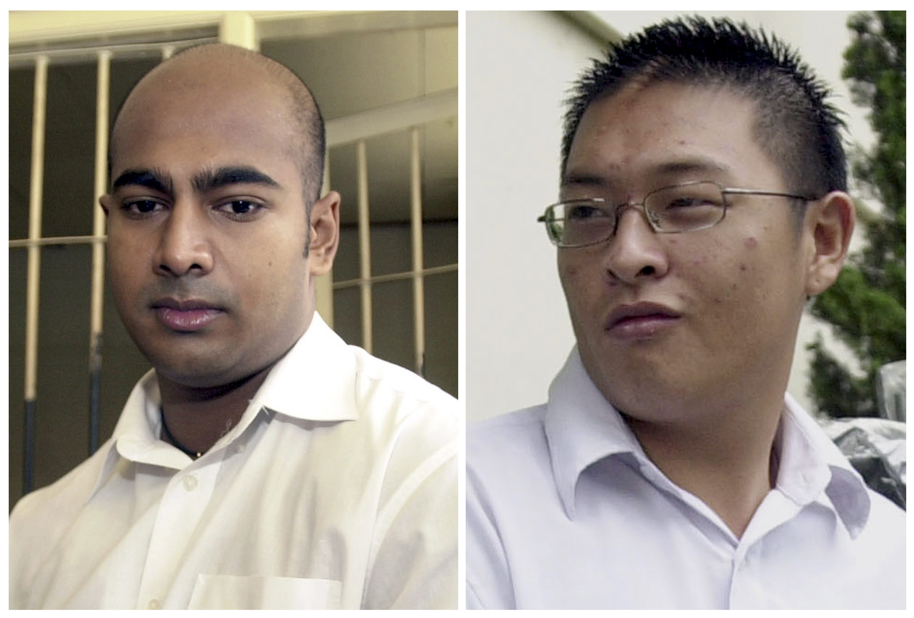 Convicted drug traffickers Myuran Sukumaran (left) and Andrew Chan, both Australians, are among several foreigners facing execution in Indonesia despite international appeals for clemency. | AP